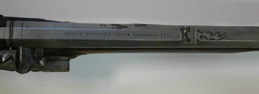 Flintlock Rifle Bamberg 1716 J. Fr. Limmer - photo 4