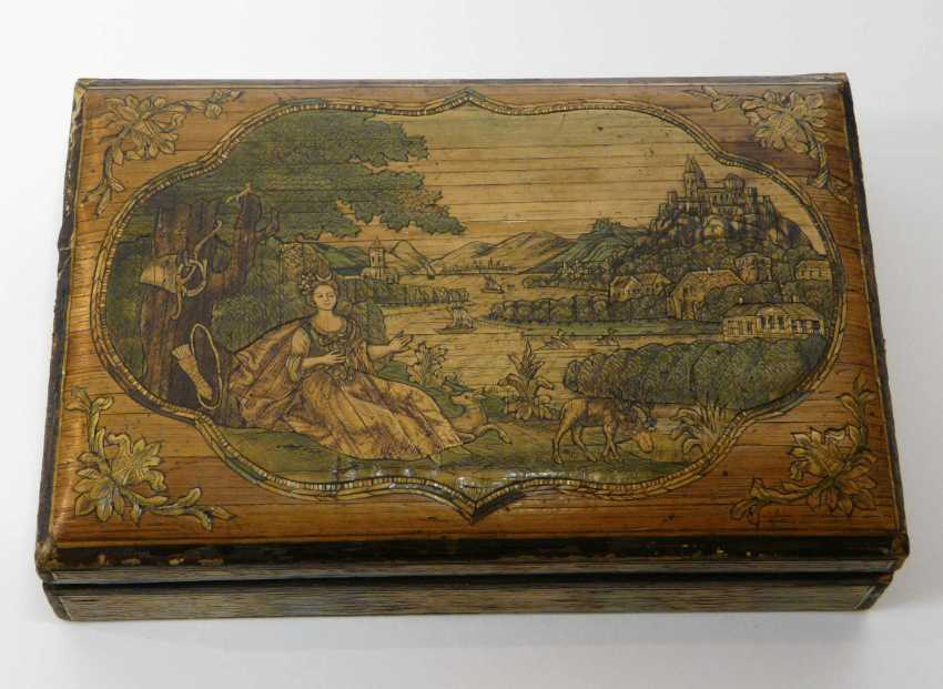 Game of stones - box with fine Rhine - motifs to 1860/80 - photo 1