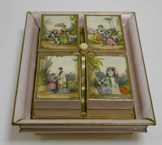 Game of stones - box, probably France, around 1880 / 1900 - photo 1