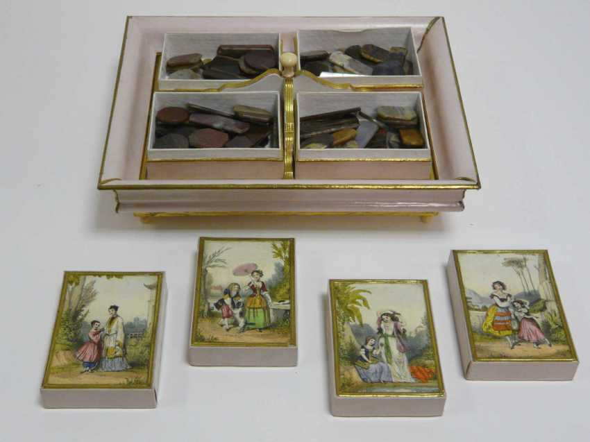 Game of stones - box, probably France, around 1880 / 1900 - photo 2