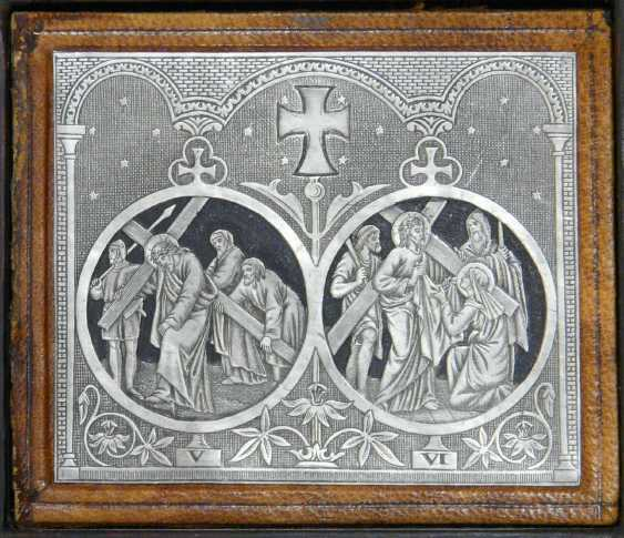 The fourteen stations of the cross of Christ - photo 2