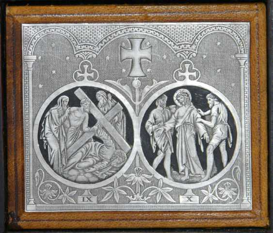 The fourteen stations of the cross of Christ - photo 3