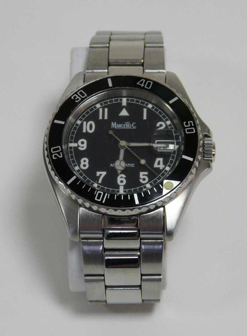Swiss Men's Wristwatch Marcello C. - photo 1