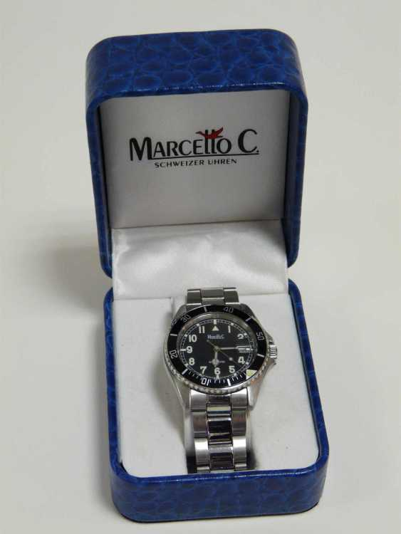 Swiss Men's Wristwatch Marcello C. - photo 5
