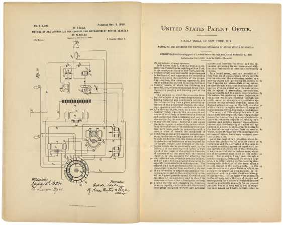 Tesla patents : an archive of inventive genius - photo 1