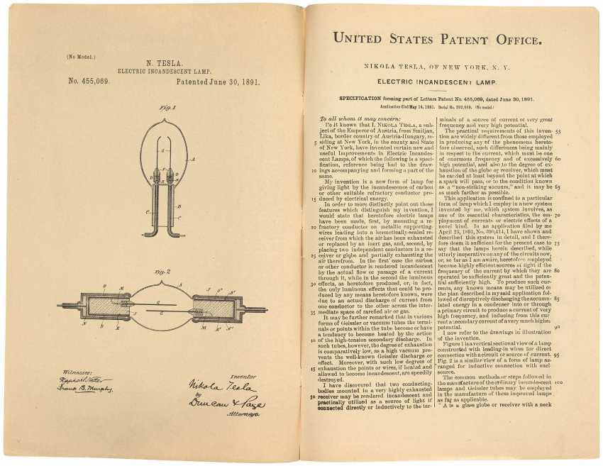 Tesla patents : an archive of inventive genius - photo 4