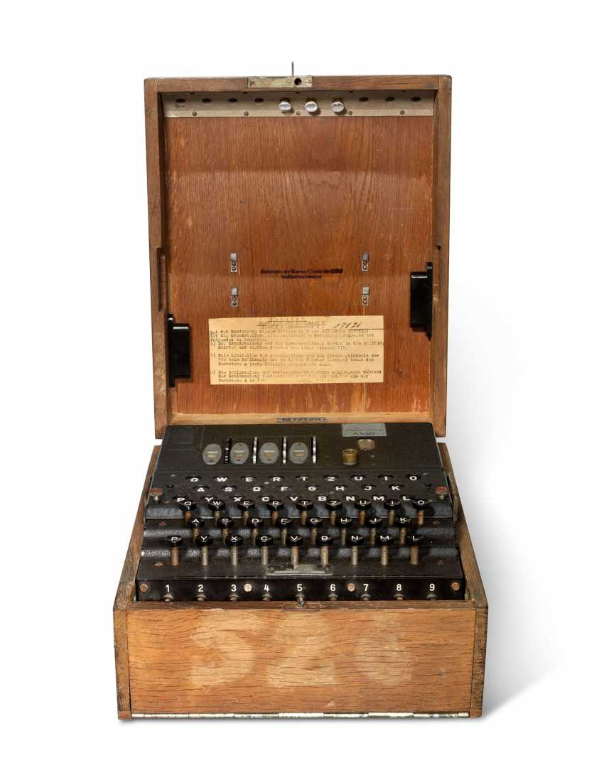 A Second World War Enigma Machine - photo 2