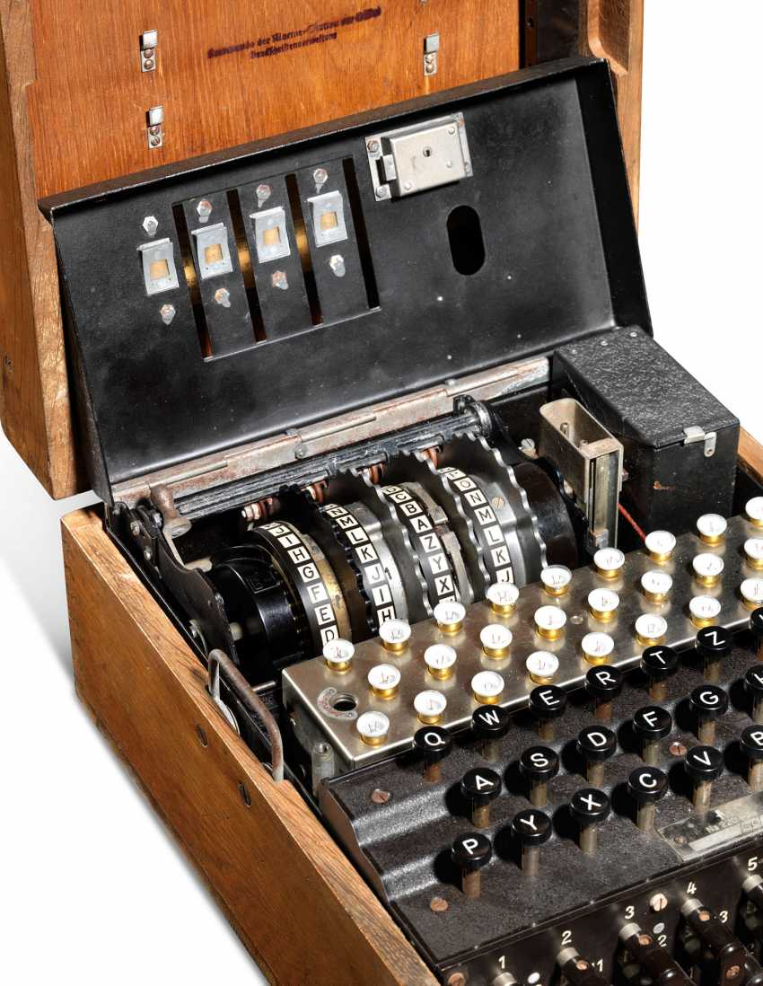 A Second World War Enigma Machine - photo 4