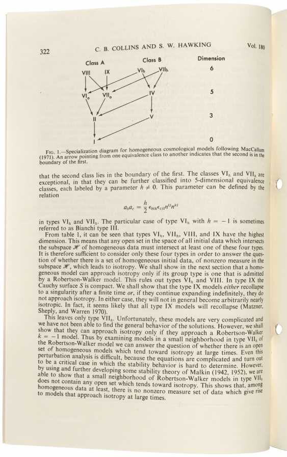 First edition of Hawking's analysis of the cosmological principle - photo 3