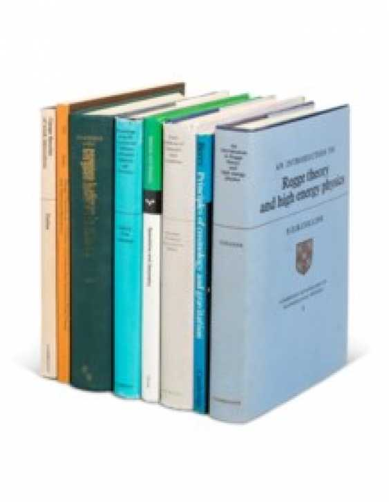 Mathematics and physics reference books from Hawking's library - photo 1