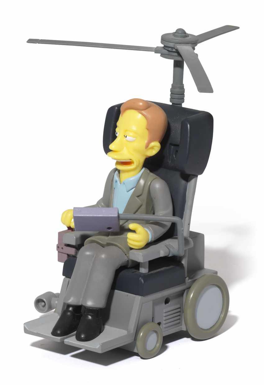 Stephen Hawking's personal Simpsons figurine - photo 1
