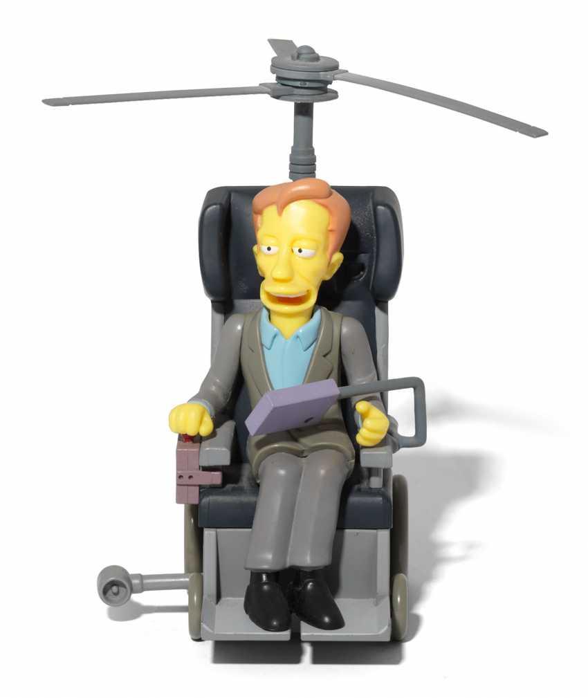 Stephen Hawking's personal Simpsons figurine - photo 5