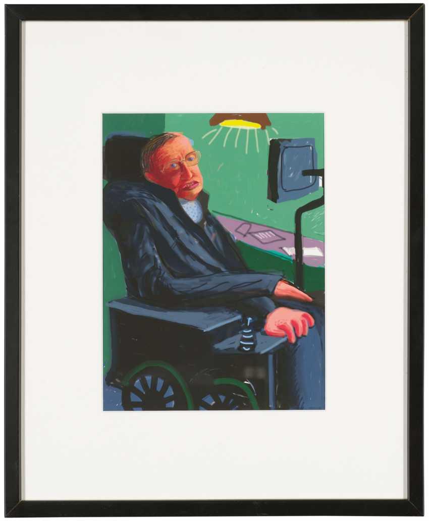 Stephen Hawking's doctoral hood - photo 2