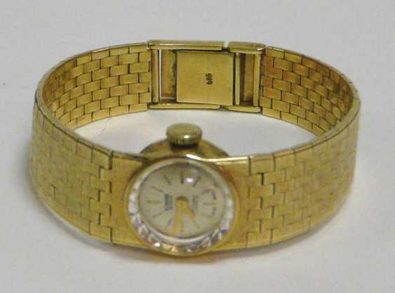 "Golden Ladies Wrist Watch ""Miramar"" Switzerland - photo 1"