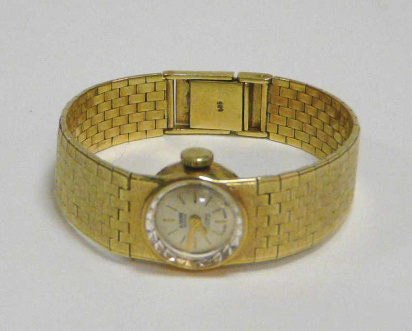 "Golden Ladies Wrist Watch ""Miramar"" Switzerland - photo 2"