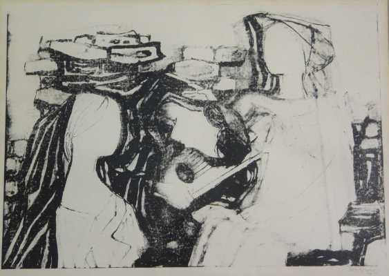 Conrad Westpfahl, Two Lithographs  - photo 1