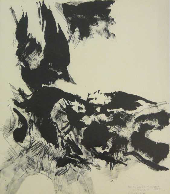 Conrad Westpfahl, Two Lithographs  - photo 2
