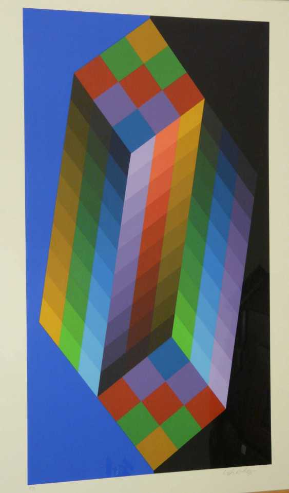 Victor Vasarely, Kinetic circular shapes of the compositions - On type (Am Carried out) - photo 2