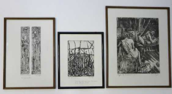 Pierre Boffin, Three Etchings - photo 1