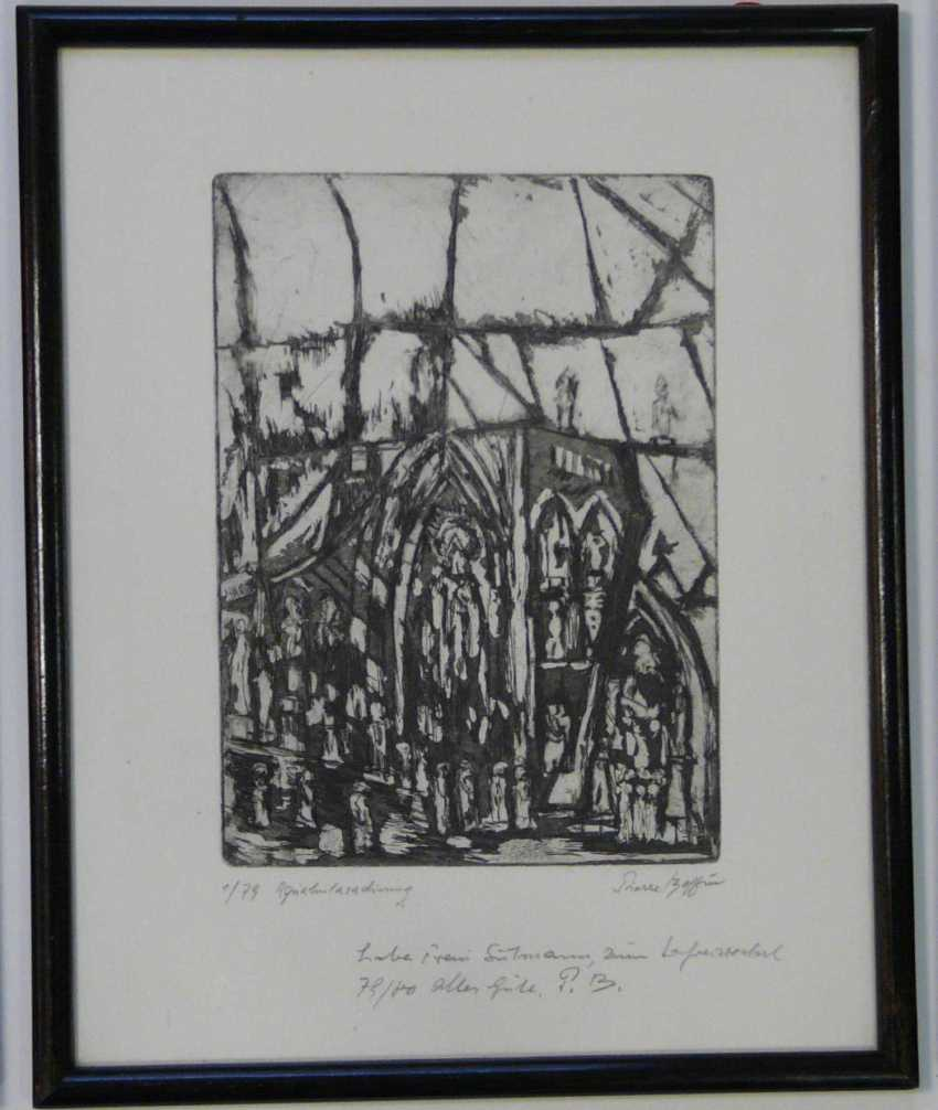 Pierre Boffin, Three Etchings - photo 4