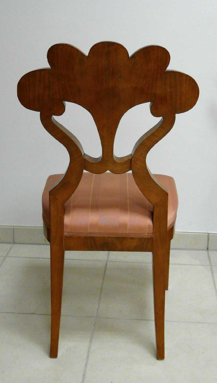 Four chairs in the Biedermeier style - photo 2