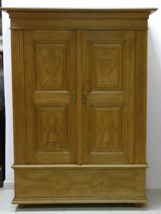 Two-Door Oak Cabinet  - photo 1