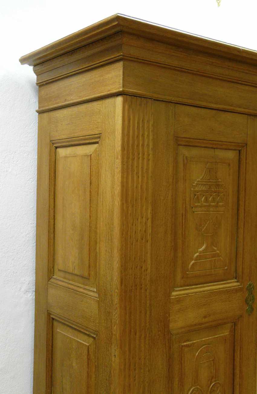 Two-Door Oak Cabinet  - photo 2