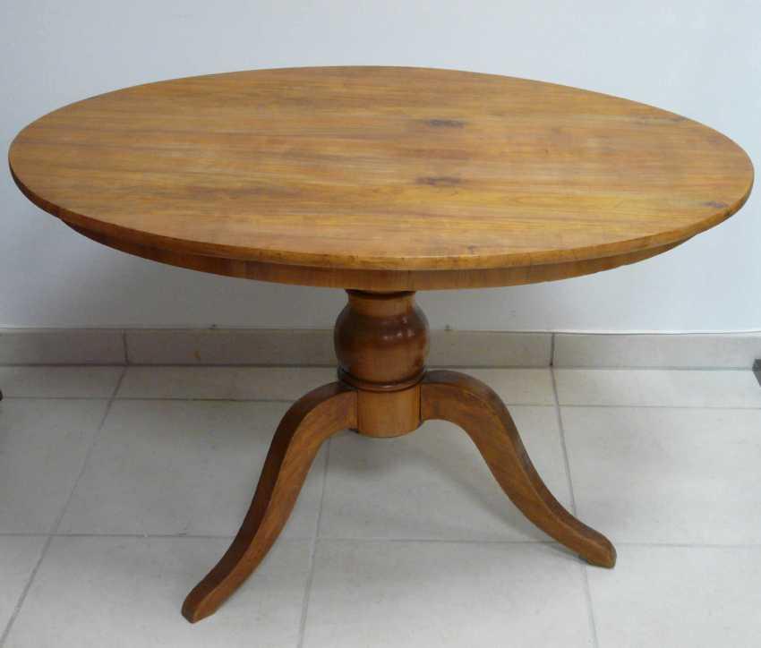 Oval Biedermeier Table - photo 1