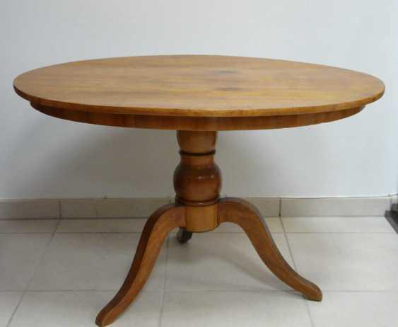 Oval Biedermeier Table - photo 2
