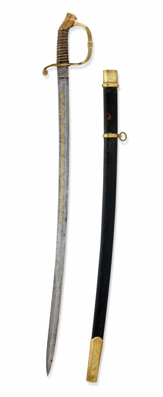 A ST ANNE DRAGOON OFFICER SWORD, PATTERN 1841 - photo 2