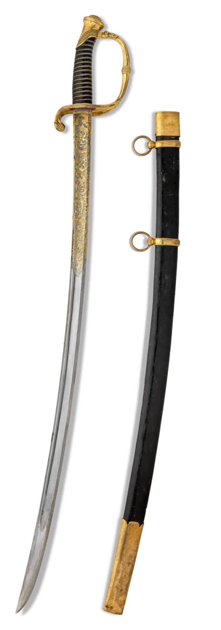 AN INFANTRY OFFICER SWORD, PATTERN 1826 - photo 3