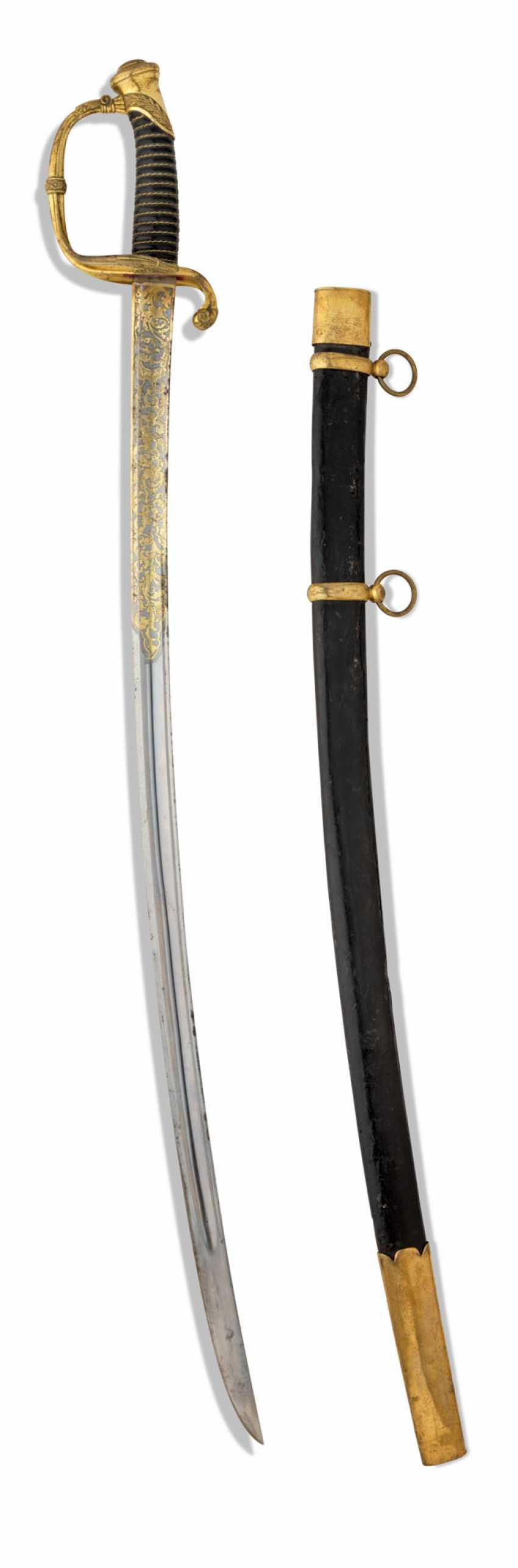 AN INFANTRY OFFICER SWORD, PATTERN 1826 - photo 4