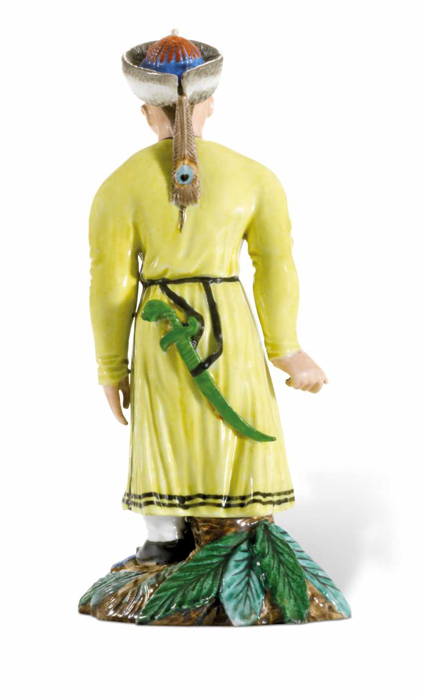 A PORCELAIN FIGURE OF A BURYAT MAN FROM THE 'PEOPLES OF RUSSIA' SERIES - photo 2
