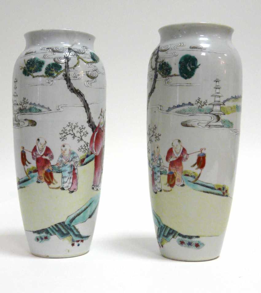 Pair of Chinese vases - photo 2