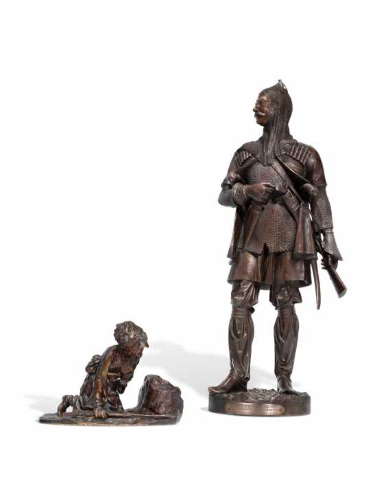 TWO BRONZE MODELS - photo 2