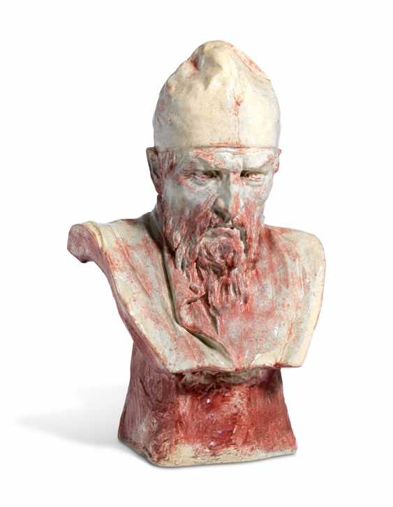 A RARE CERAMIC BUST OF IVAN THE TERRIBLE - photo 1