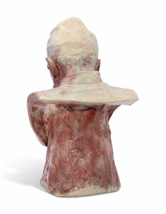 A RARE CERAMIC BUST OF IVAN THE TERRIBLE - photo 2