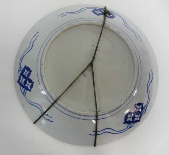 Large Chinese porcelain plate 1900's - photo 4