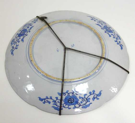 Large Chinese porcelain plate  - photo 3