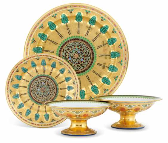 A GROUP OF PORCELAIN TABLEWARE FROM THE KREMLIN SERVICE - photo 1