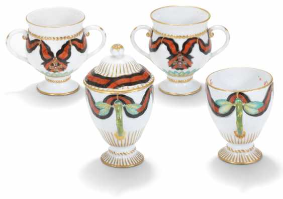 FOUR PORCELAIN CUPS FROM THE SERVICE OF THE ORDER OF ST VLADIMIR - photo 2