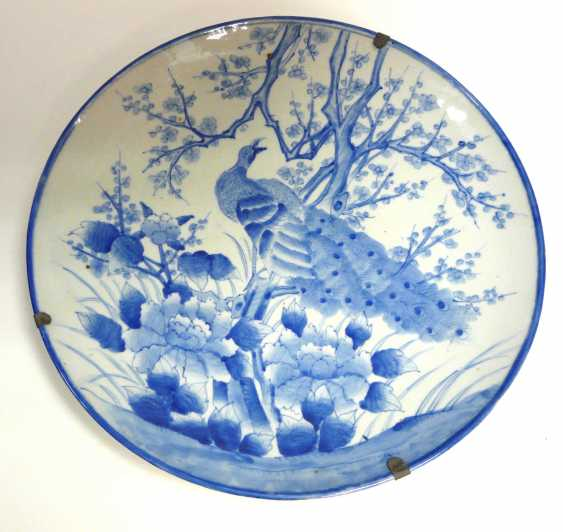 Large Chinese plate  - photo 1
