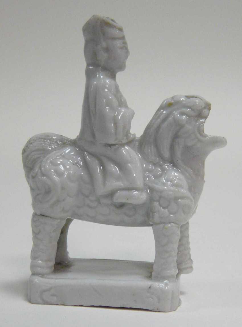 Ritual incense stick holder Dehua porcelain / Blanc de Chine  - photo 2