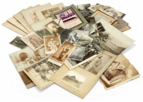 A LARGE COLLECTION OF SMALL AND LARGE PHOTOGRAPHS - photo 1