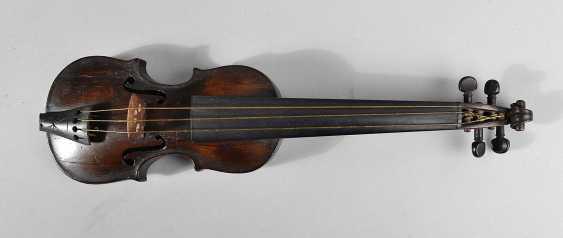 Pouch in Violinenform - photo 1
