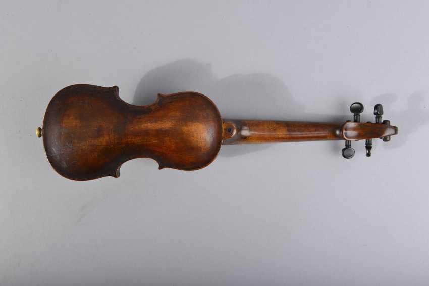 Pouch in Violinenform - photo 3