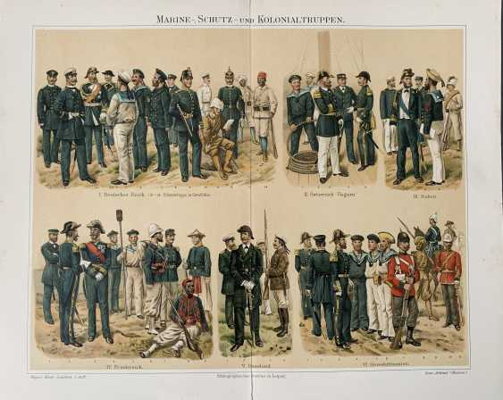 Marine uniform. 1894 - photo 1