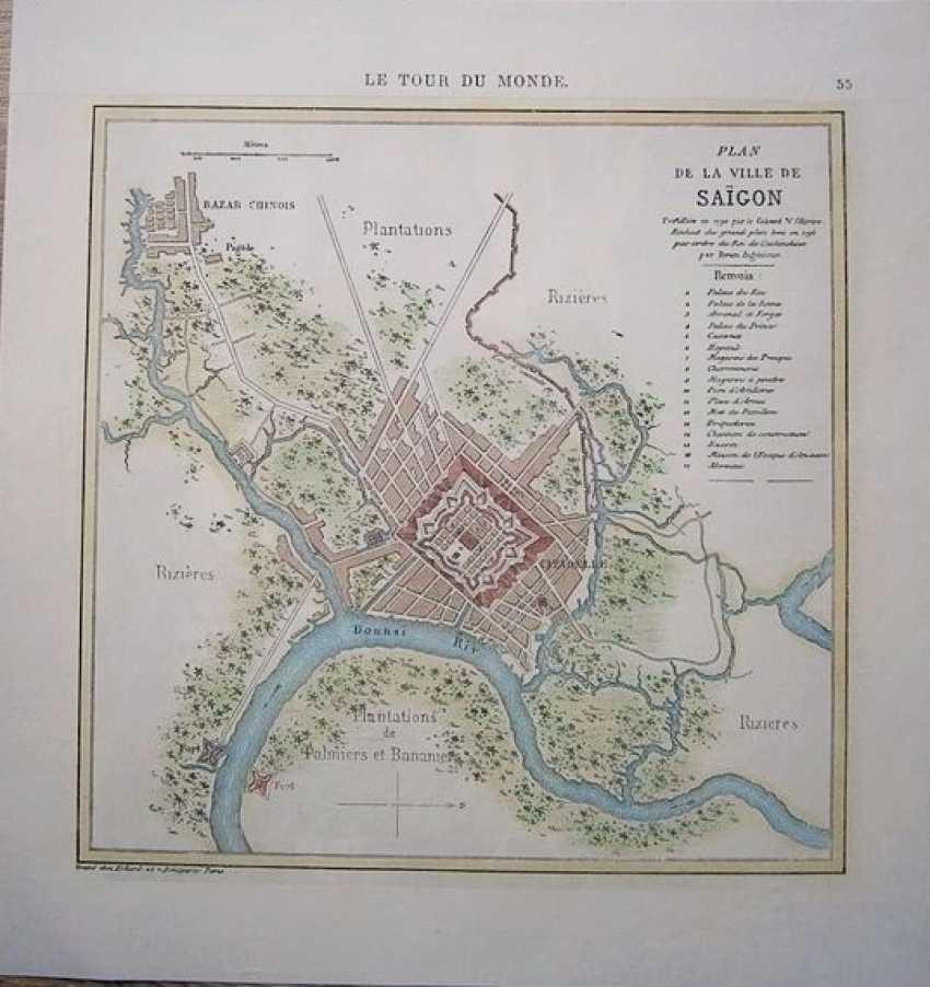 Map of Saigon (now Ho Chi Minh city) - photo 1