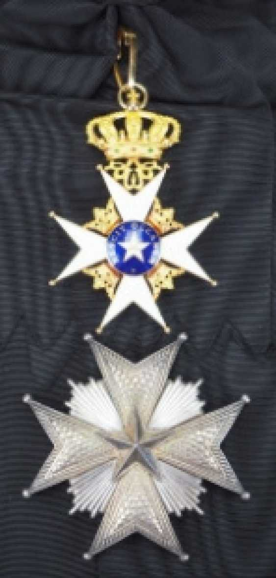 Sweden: Royal Northstar-Order, Grand Cross Set
