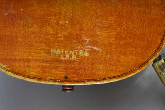 Violin with a horn - photo 2